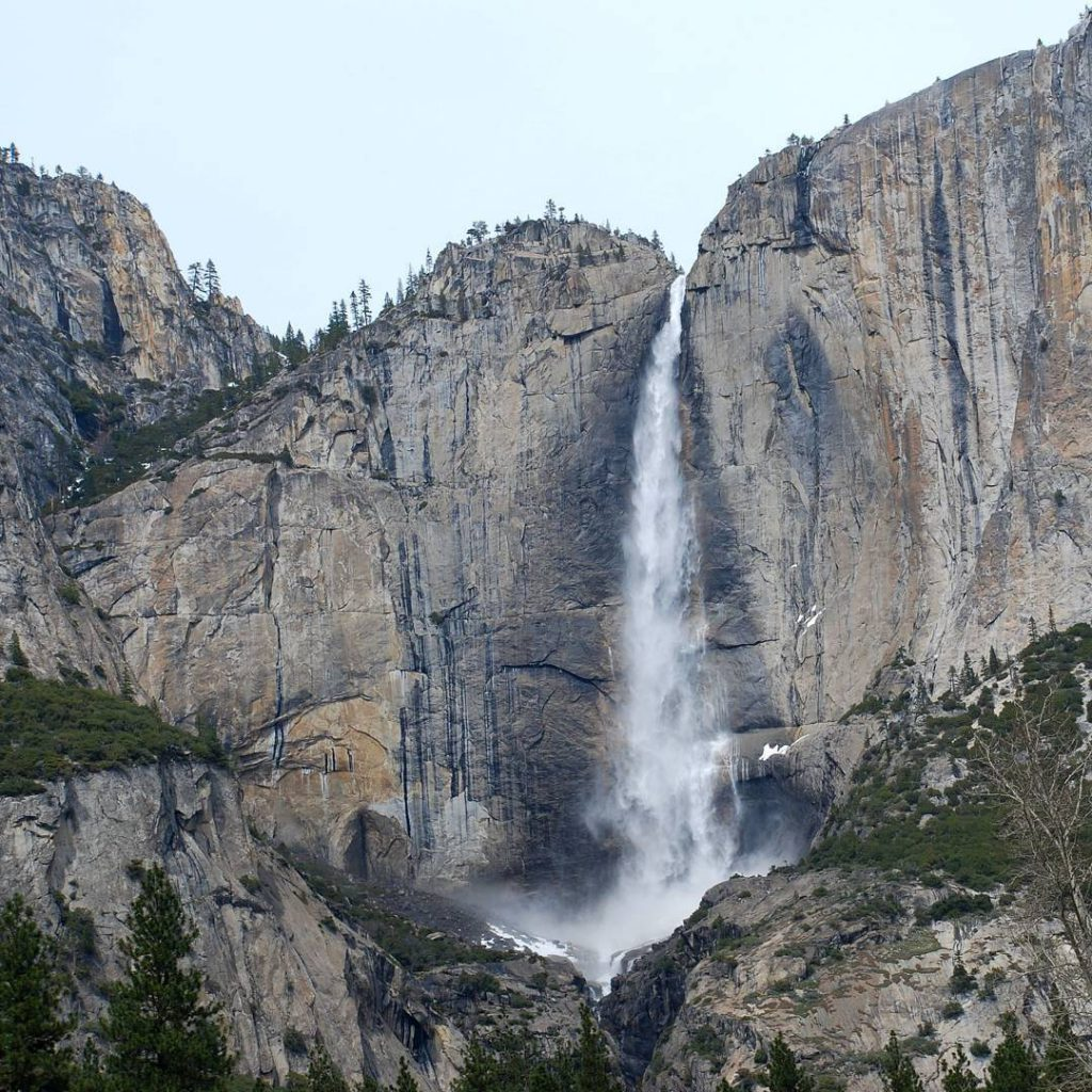 Waterfall in Yosemite National Park yosemite yosemitenationalpark nationalpark california usahellip