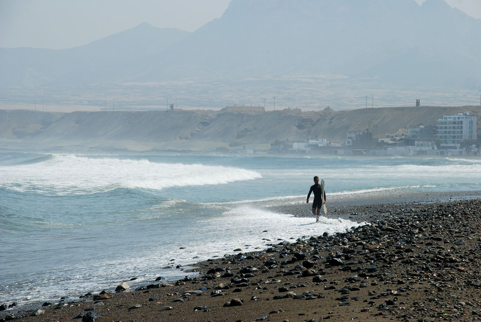 Surfer in Huanchaco