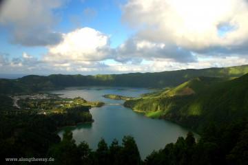 Azoren Lagoa Azul und Lagoa VerdeAzoren LagoaAzul und Lagoa Verde