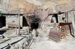 Eingang zu der Potosi Mine