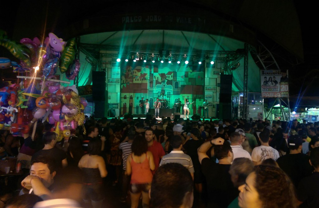 Hauptbühne im Campo de São Christovão