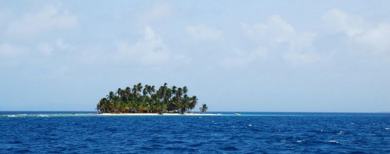 San Blas Insel