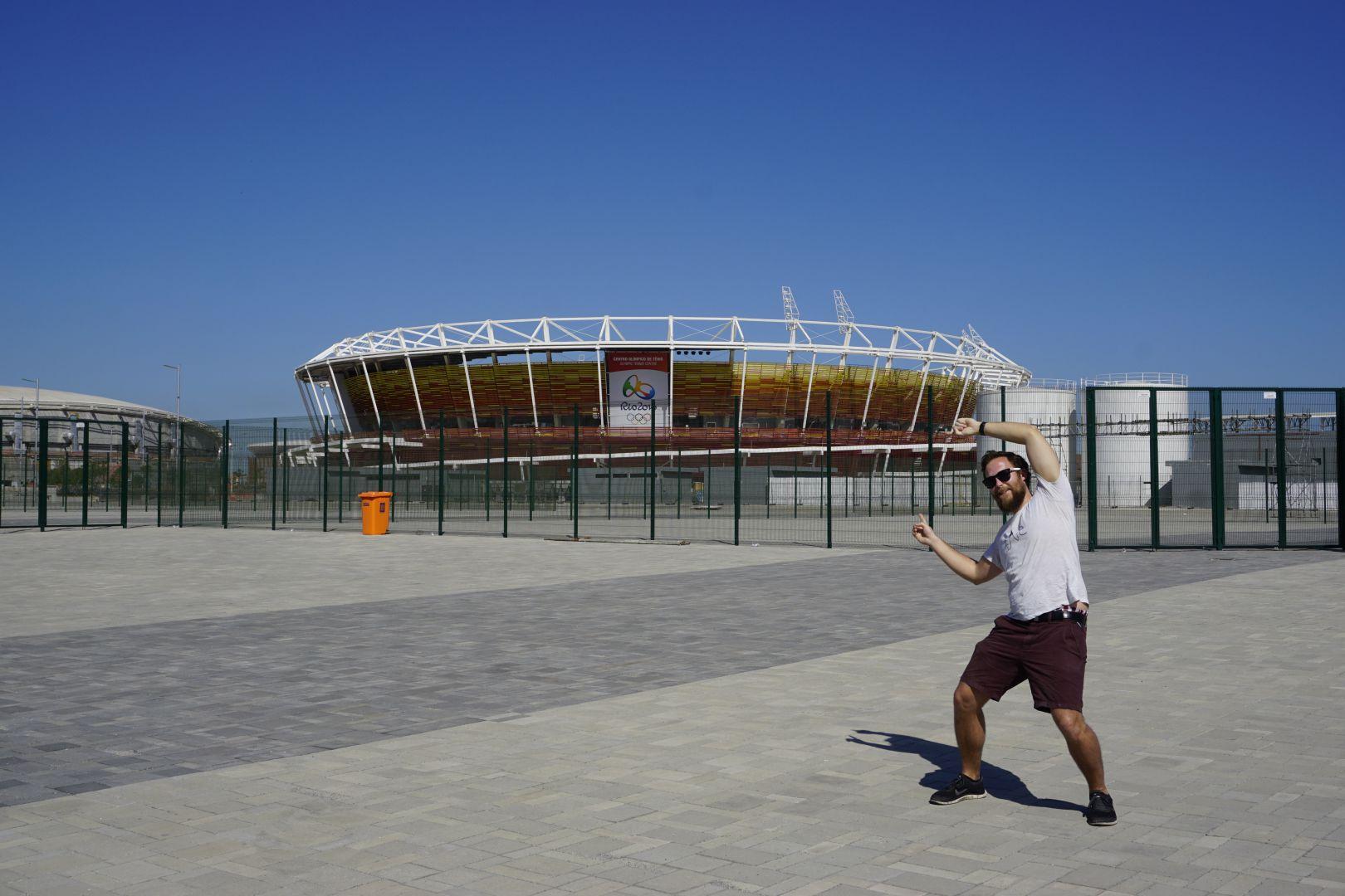 Rio de Janeiro Olympische Tennis Arena