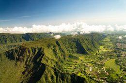 La Réunion von oben