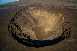 Piton de la Fournais Krater