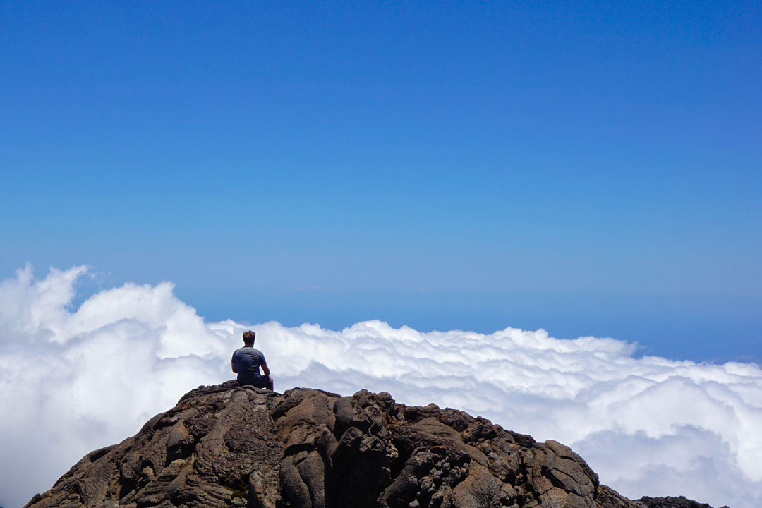 La Réunion Wolken