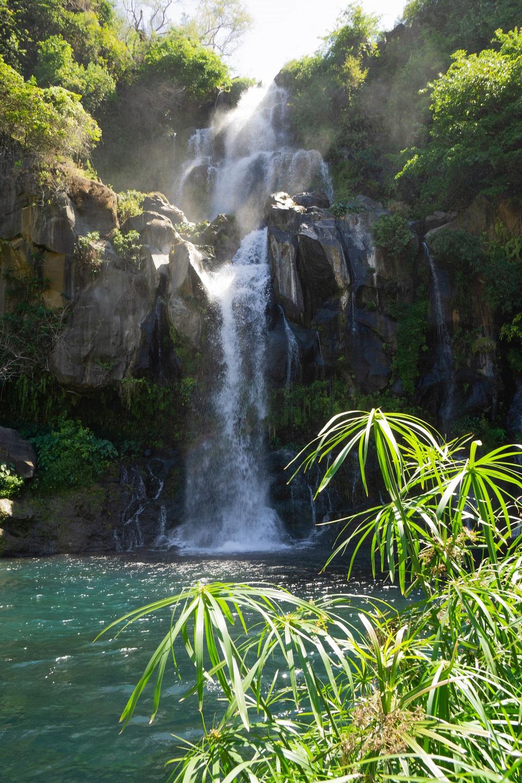 La Réunion Wasserfall